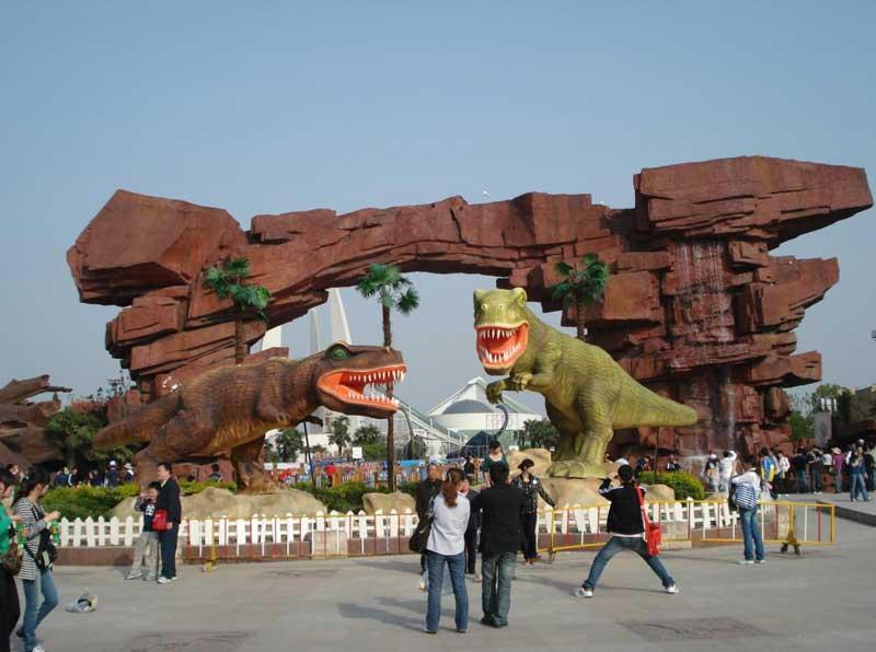 恐龙装饰亚博体育网页登录
