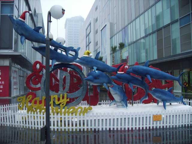 海豚腾飞景观装饰亚博体育网页登录