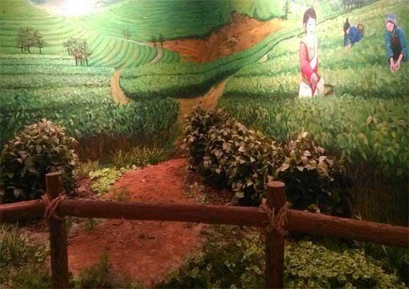铜陵规划馆的茶树场景亚博体育网页登录复原