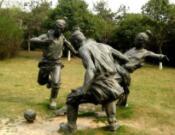 铸铜亚博体育网页登录的艺术展现