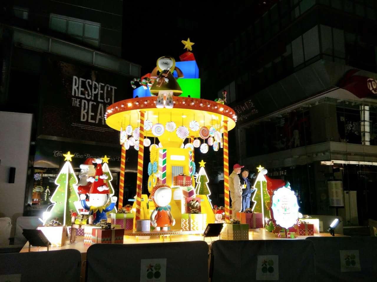 大宁广场圣诞节主题亚博体育网页登录