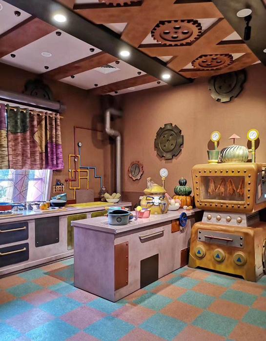 常州恐龙园亚博在线娱乐官网入口卡通厨房